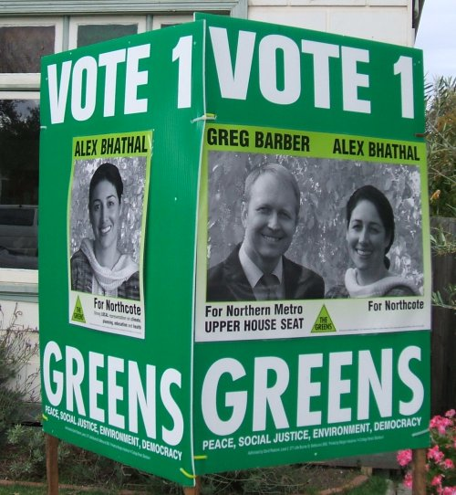 greens victoria