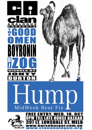 ZOG HUMP flier